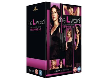 L WORD - Complete Series - Säsong 1 - 6 DVD Box - - - - Ny