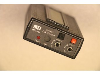 MORSE CODE READER  POCKET SIZE MFJ-461