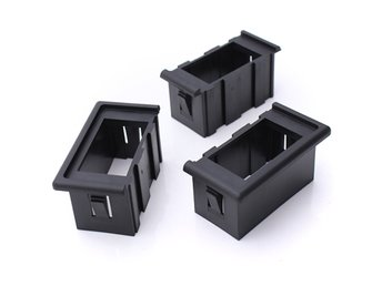 3 Rocker Switches Housing ARB Clip Panel Holder Plastic C...