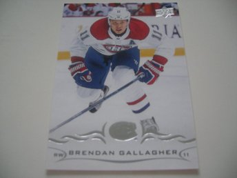UD Series One 18/19 #100 Brendan Gallagher - Montreal Canadiens