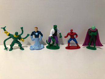 5 st MARVEL action figurer / gubbar ~ Spiderman mfl