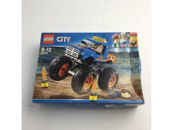 LEGO, Byggsats, City Monstertruck, Blå