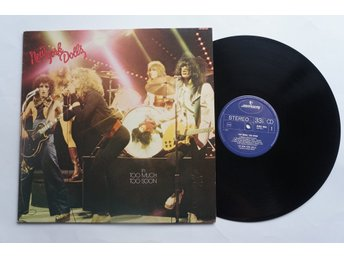 ** New York Dolls ‎– Too Much Too Soon **