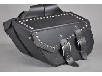 packväskor mc läder