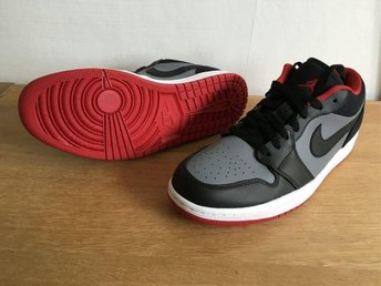 Nike Jordan 1 low, stl US 9, DS, Helt nya
