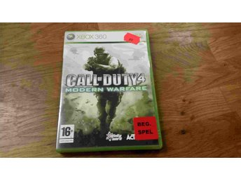 CALL OF DUTY MODERN WARFARE XBOX 360 BEG