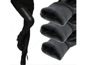 Wetlook Leggings Skinnimitation Storlek M Tights