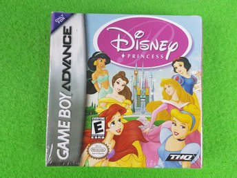 Disney Princess NYTT INPLASTAT GBA Gameboy Advance