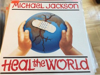 Michael Jackson Heal the world 12""