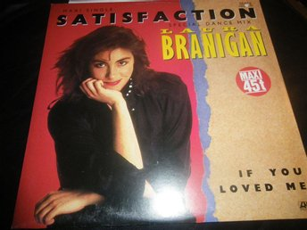 laura branigan satisfaction maxi singel