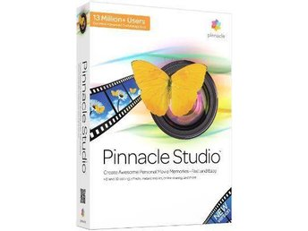Pinnacle studio 16 videoredigeringsprogram
