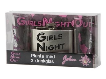 Pluntset Girls Night Out med 2 drinkglas