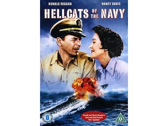 Hellcats of the navy (Import)Krigsfilm med Ronald Reagan Nancy Davis