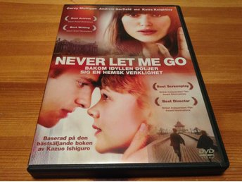 Never let me go - Svensk text - DVD