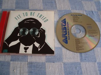Fit To Be Tried - Rock CD Sampler, Arista – ASCD-9755, Made USA 1988, Promo