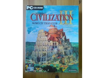 Civilization III  -  BIG BOX