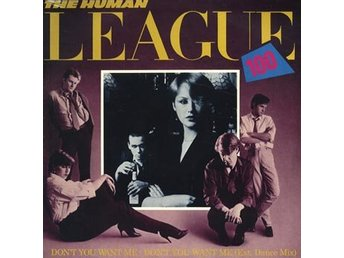 "Human League: Don't you want me (Ext dance mix) (Vinyl 12"")"