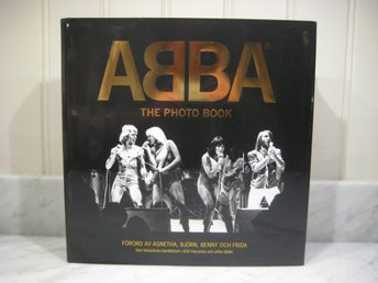 Bok - ABBA THE PHOTO BOOK - Fotobok