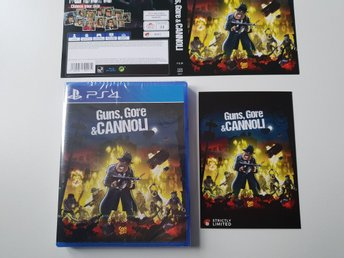 Guns, Gore & Cannoli - Strictly Limited Games #4 - PS4 NYTT