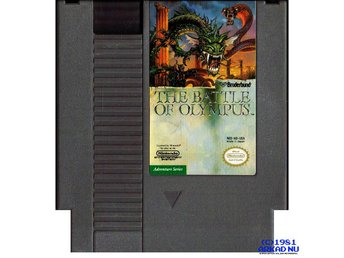 THE BATTLE OF OLYMPUS NES REV-A USA
