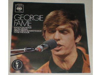 Georgie Fame OMSLAG EP Knock on wood UK 1967