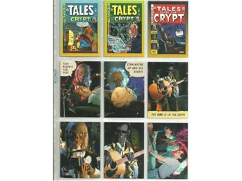 9 st  TALES FROM THE CRYPT  SAMLARKORT  - LOT NR 2