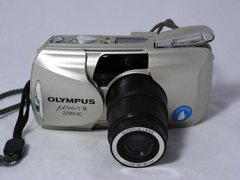 Olympus µ[mju:]-II  ZOOM 80. 35mm Film Camera