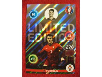 LIMITED EDITION - CRISTIANO RONALDO - SHINY - EM - UEFA EURO FRANCE 2016