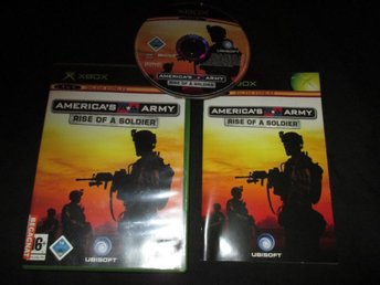 Americas Army - Rise of a soldier - Komplett - Xbox