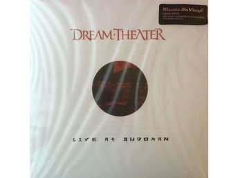 DREAM THEATER - LIVE AT BUDOKAN 4-LP 180G NY GATEFOLD