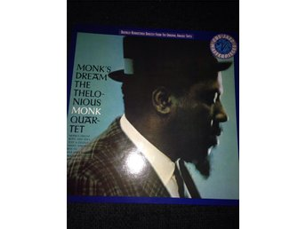 MONKS DREAM THE THELONIOUS MONK QUARTET DIGITALT REMASTRAD!