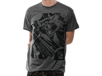 GUARDIANS OF THE GALAXY 2.0 - GEOMETRIC ROCKET T-Shirt - Large