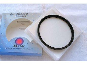 B+W UV-Haze filter 010 77 mm MRC, nytt i box