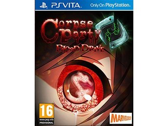 Corpse Party - Blood Drive - Playstation VITA