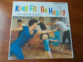 BONNIE PRUDDEN - Keep Fit Be Happy, LP Warner Stereo USA 60-tal SEALED