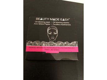 Beauty made easy, pink oil blotting papers. Glossybox