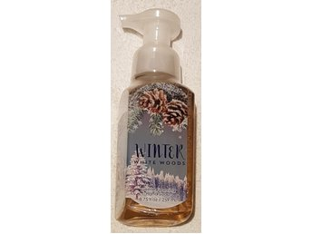 WINTER WHITE WOODS Bath & Body Works Gentle Foaming Hand Soap skumtvål USA doft