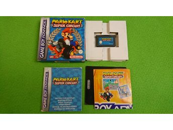Mario Kart Super Circuit KOMPLETT GBA Gameboy Advance Nintendo
