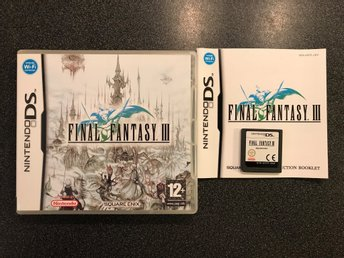 Final fantasy 3 - Nintendo DS