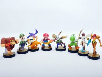 Amiibo Super smash bros collection
