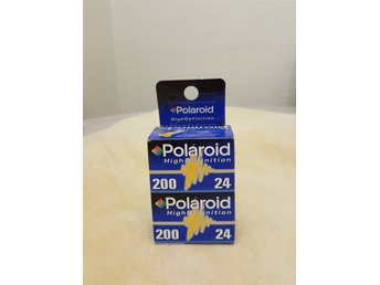 2 st POLAROID High Definition FILM 200 24