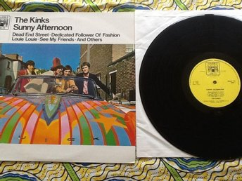 The Kinks : Sunny Afternoon. Marble Arch Mals 716. 1966 Fin popklassiker