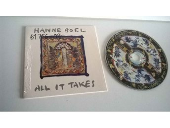 Hanne Boel - All it takes, single CD
