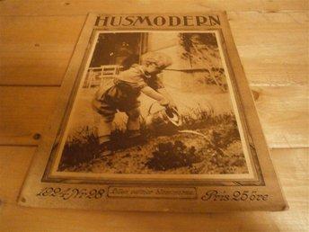Husmodern 1924 # 28 Skansen Stockholm, Sömnad, Recept mm - Göteborg - Husmodern 1924 # 28 Skansen Stockholm, Sömnad, Recept mm - Göteborg