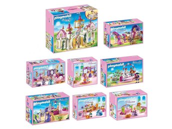 Playmobil Princess Castle Complete Sets of 8, BRAND NEW w/FREE GIFT