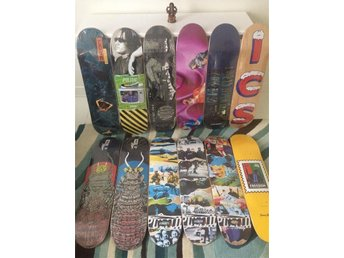Kvalitéts skateboards. Made in US. Politic, Alltimers, Iron Claw, Coda &Theories