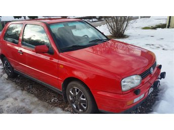 VW Golf  GI 1.8 årsmodell 1997