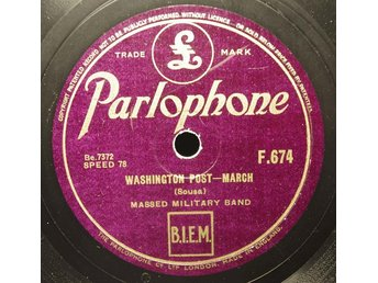 Parlophone F 674 - Masse Military Band