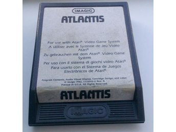Atlantis - Atari 2600 - Imagic