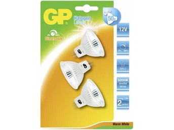 GP Lighting Multipack Halogen Reflector GU5.3 40W (50W) 12V